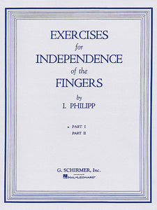 Phillip, Isidor - Exercises for Independence of Fingers, Book 1 - Piano Method Series*