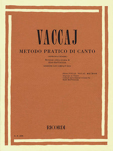 Practical Vocal Method (Vaccai) - High Voice Soprano/Tenor - Book/CD (Battaglia) Vocal Soprano/Tenor - Book/CD