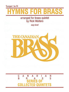 Hymns for Brass 1st Trumpet (Walters) Brass Ensemble 1st Trumpet