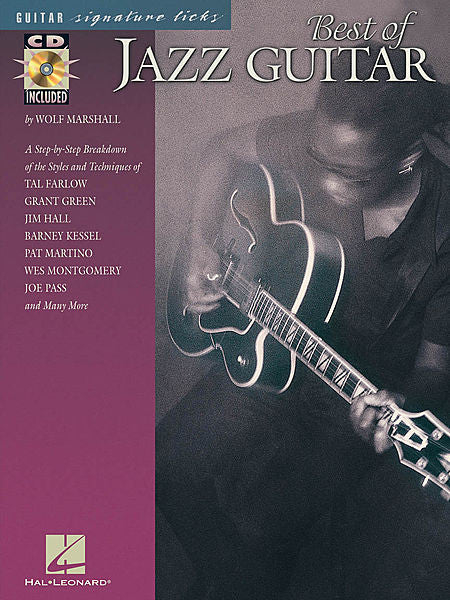 Best of Jazz Guitar by Wolf Marshall Signature Licks Guitar