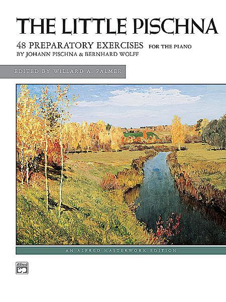Pischna, Johann - The Little Pischna ed. Willard A. Palmer - Forty-Eight (48) Preparatory Exercises (Practice Pieces) - Piano Method Volume*