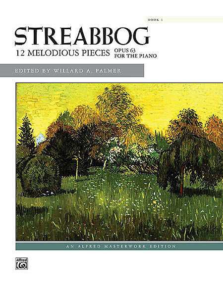 Streabbog, Jean Louis - Twelve (12) Easy & Melodious Studies (Pieces), Opus 63 ed. Willard A. Palmer - Piano Method Volume*