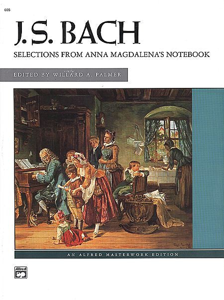 J.S. Bach - Anna Magdalena's Notebook, Selections from  (Palmer)