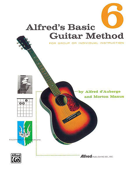 Alfred's Basic Guitar Method 6