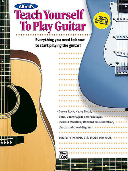 Alfred's Teach Yourself to Play Guitar Bk/CD (Manus)