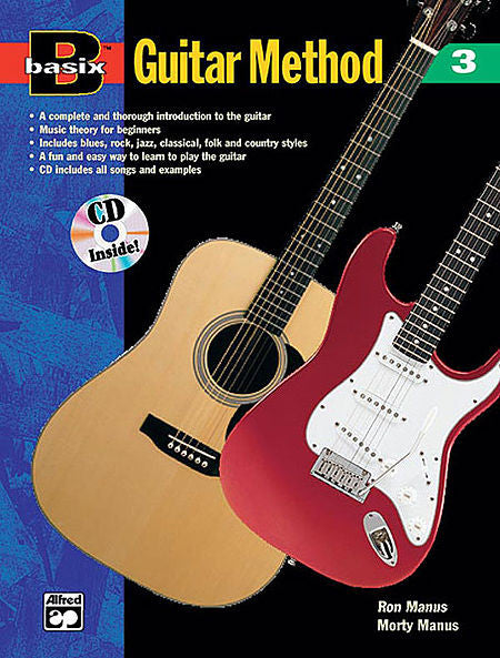 Basix: Guitar Method, Book 3