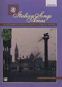26 Italian Songs and Arias, Medium High Bk/CD