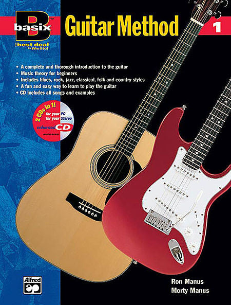 Basix: Guitar Method, Book 1 BK/CD