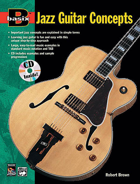Basix: Jazz Guitar Concepts, Bk/CD - Robert Brown