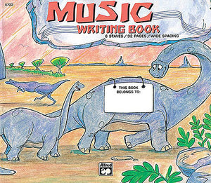 Alfred's Basic Music Writing Book