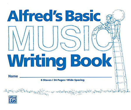 Alfred's Basic Music Writing Book (8