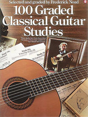 100 Graded Classical Guitar Studies ed. Frederick Noad Music Sales America Guitar