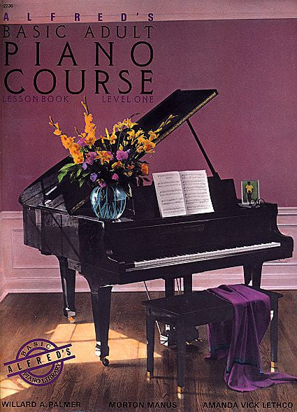 Alfred's Basic Adult Piano Course: Lesson Book 1 Bk/CD