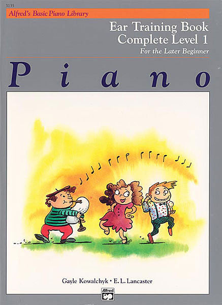 Alfred's Basic Piano Course: Ear Training Book Complete 1 (1A/1B)