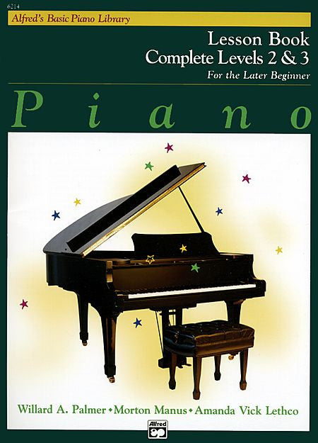 Alfred's Basic Piano Course: Lesson Book Complete 2 & 3