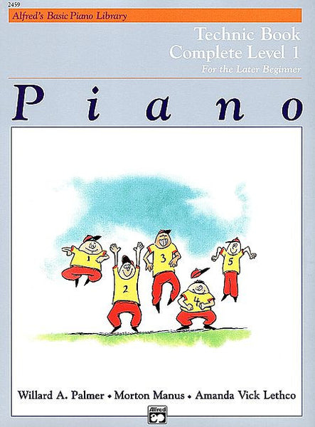 Alfred's Basic Piano Course: Technic Book Complete 1 (1A/1B)