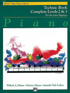 Alfred's Basic Piano Course: Technic Book Complete 2 & 3