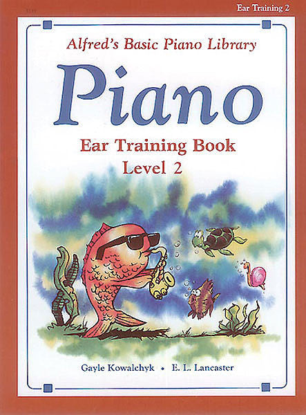 Alfred's Basic Piano Course: Ear Training Book 2