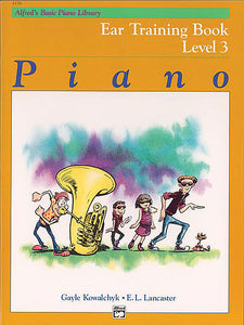 Alfred's Basic Piano Course: Ear Training Book 3