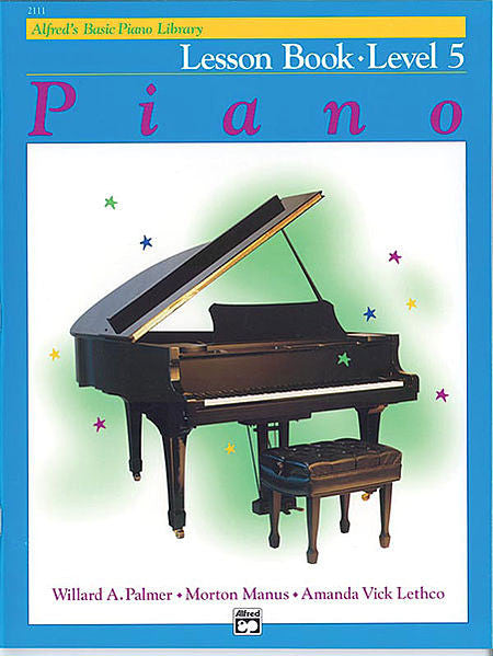 Alfred's Basic Piano Course: Lesson Book 5