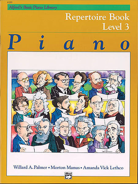 Alfred's Basic Piano Course: Repertoire Book 3