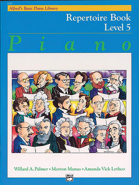 Alfred's Basic Piano Course: Repertoire Book 5