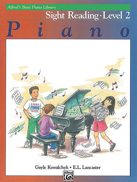 Alfred's Basic Piano Course: Sight Reading Book 2