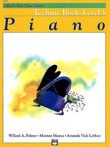 Alfred's Basic Piano Course: Technic Book 3