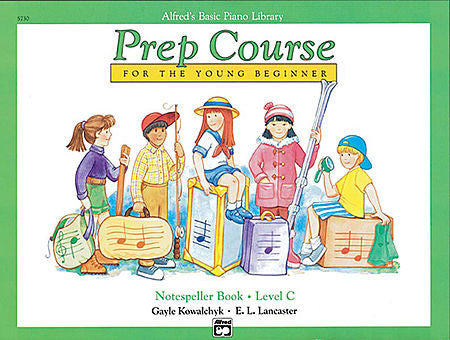 Alfred's Basic Piano Prep Course: Notespeller Book C