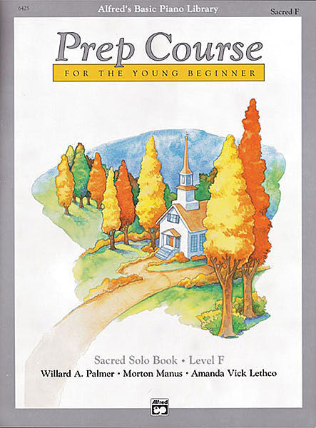 Alfred's Basic Piano Prep Course: Sacred Solo Book F
