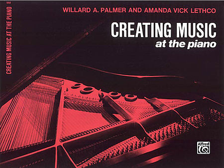 Palmer / Lethco - Creating Music at the Piano, Lesson Book 1 - Piano Method Series (POP)*