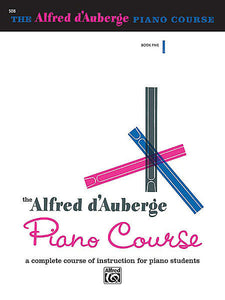 d'Auberge, Alfred - Piano Course: Lesson, Book 5 - Piano Method Series*