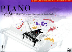 Primer Level - Popular Repertoire Book Piano Adventures Faber Piano Adventures Popular Repertoire Book