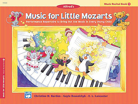 Music for Little Mozarts: Music Recital Book 1