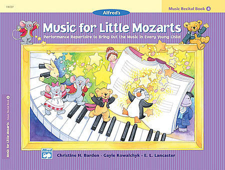 Music for Little Mozarts: Music Recital Book 4