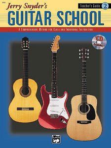 Jerry Snyder's Guitar School, Teacher's Guide Book 2