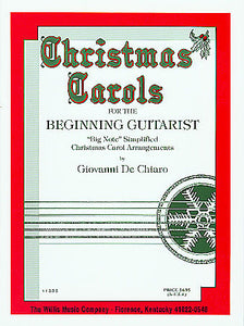 Christmas Carols for the Beginning Guitarist - De Chiaro