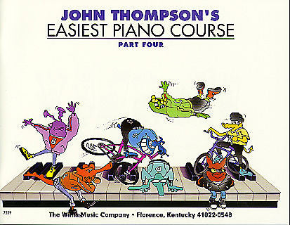 John Thompson's Easiest Piano Course - Part 4 - Book only by John Thompson