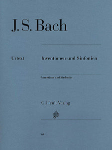 Inventions and Sinfonias BWV 772-801 Piano Solo (ed. Rudolf Steglich, fing. Hans-Martin Theopold) Henle Music Folios