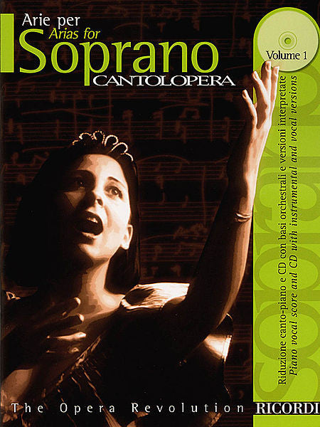 Cantolopera: Arias for Soprano - Volume 1 Cantolopera Collection Vocal Book/CD Pack