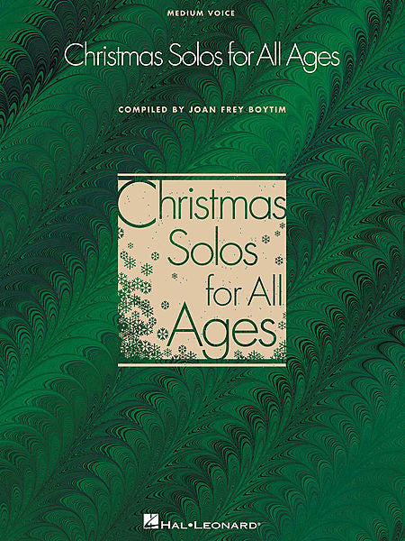 Christmas Solos for All Ages, Medium Voice arranged by Joan Boytim