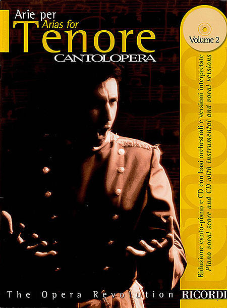 Cantolopera: Arias for Tenor - Volume 2 Cantolopera Collection Cantolopera Collection Vocal Book/CD Pack