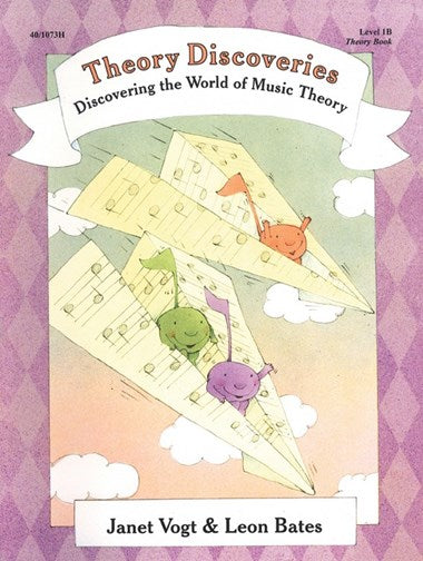 Piano Discoveries Library, Level 1B - Theory Book - Piano Method Series*