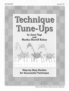 Piano Discoveries Library, Level 3 - Technique Tune-Ups: Step-by-step Studies for Successful Technique - Piano Method Series*