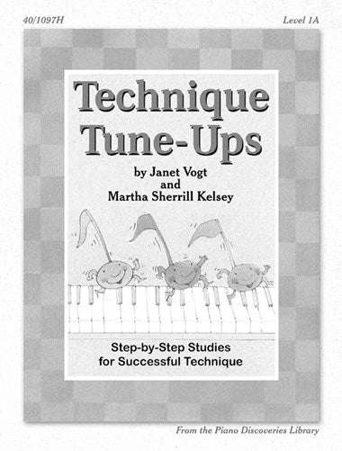 Piano Discoveries Library, Level 2 - Technique Tune-Ups: Step-by-step Studies for Successful Technique - Piano Method Series*