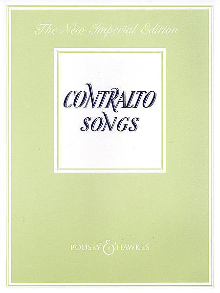 Contralto Songs The New Imperial Edition (ed. Northcote) Boosey & Hawkes Voice Book Only