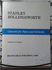 Hollingsworth, Stanley - Concerto for Piano & Orchestra arr. by the Composer - Piano Ensemble (2 Pianos 4 Hands)