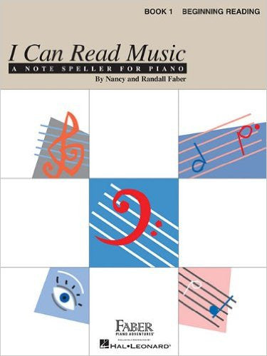 I Can Read Music - Book 1 Beginning Reading by Nancy & Randall Faber