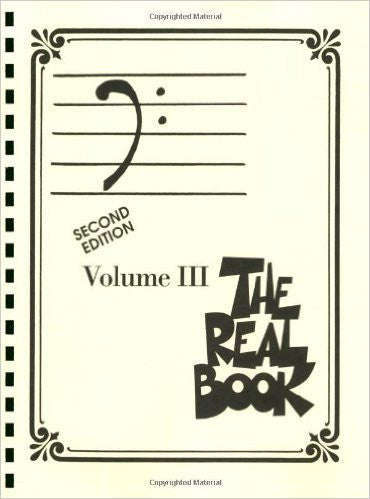 The Real Book - Volume III Bass Clef Edition Fake Book Bass Clef Edition