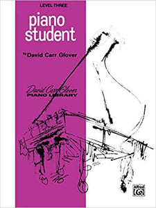 Glover, David Carr - Adult Piano Student, Level 3 - Piano Method Series (POP)*